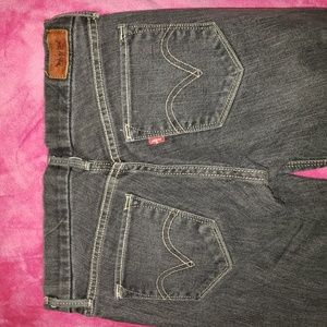Levi's jeans sz 1m skinny ankle new